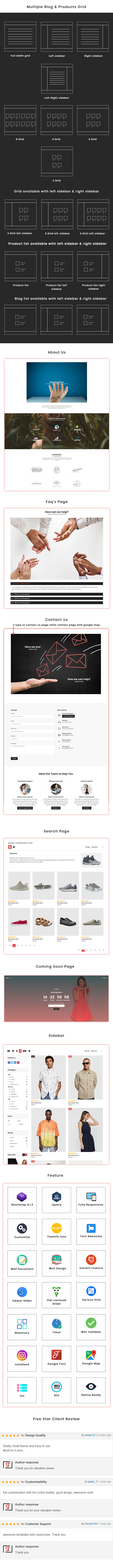 Libazz - The Responsive Bootstrap 4 Multipurpose eCommerce Template - 7