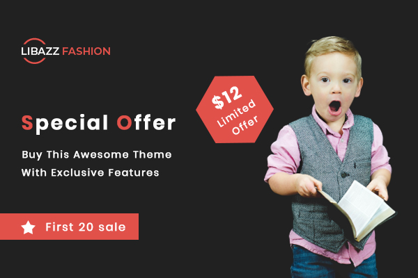 Libazz Fashion - Ecommerce  HTML5 Template - 2