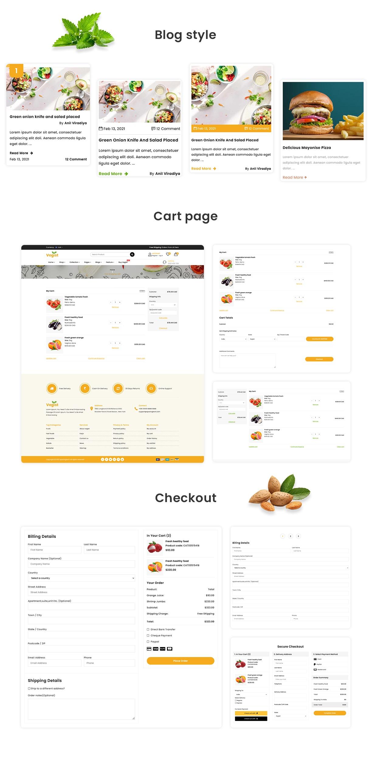 Vegist - Multipurpose eCommerce HTML Template - 3
