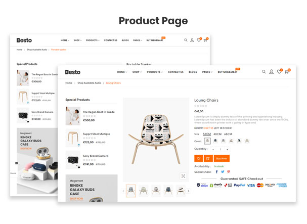 Besto - The Electronics & Fashion Multipurpose eCommerce Shopify Theme - 4