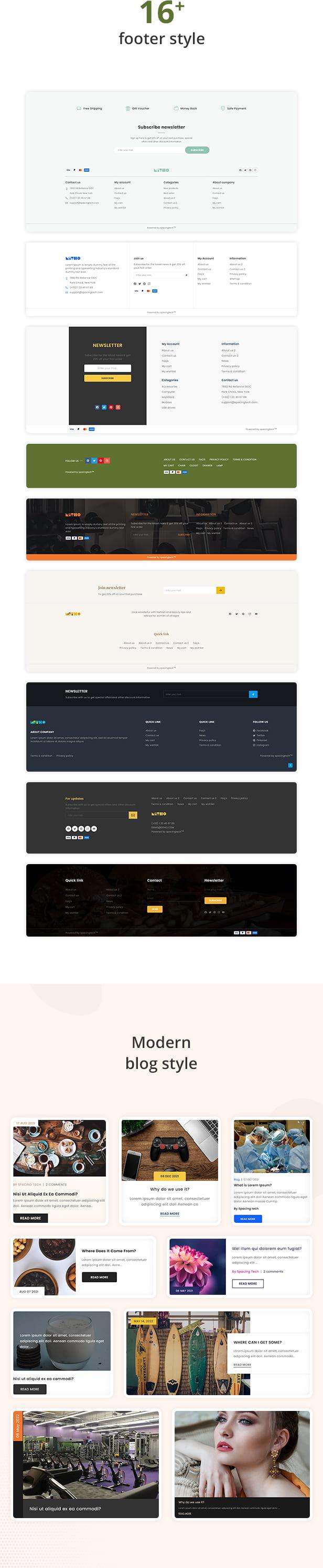 Mitho - Multipurpose beauty, medical, foods shopify theme - 10